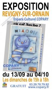 Copary affiche où est Sacha -légère