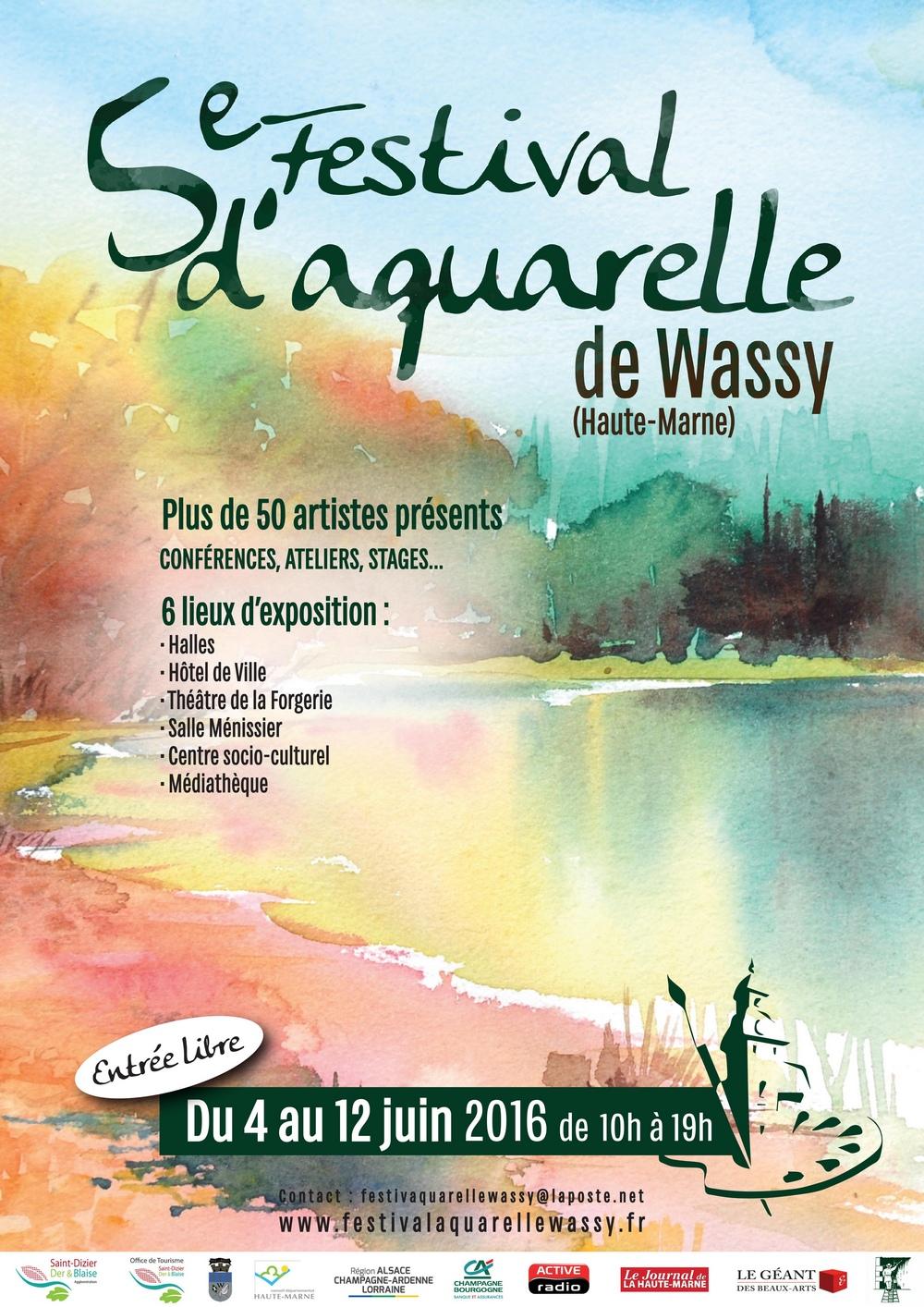 wassy 2016affiche festival aquarelle v2
