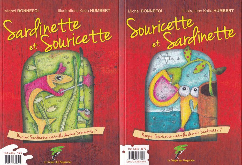 Sardinette et Souricette couverture
